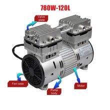 цены 780W non oil air vacuum pump oil-free pump 120L/Min 220V