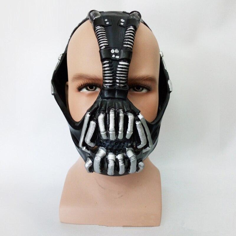 The Dark Knight Rises Batman Bane cosplay Mask Halloween Costumes for men Carnival masks