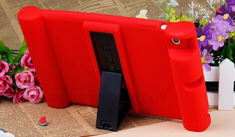 Silicone for A2428 A2270 iPad Case Shockproof 10.2 Soft Cover A2198 A2197 A2200 Kickstand