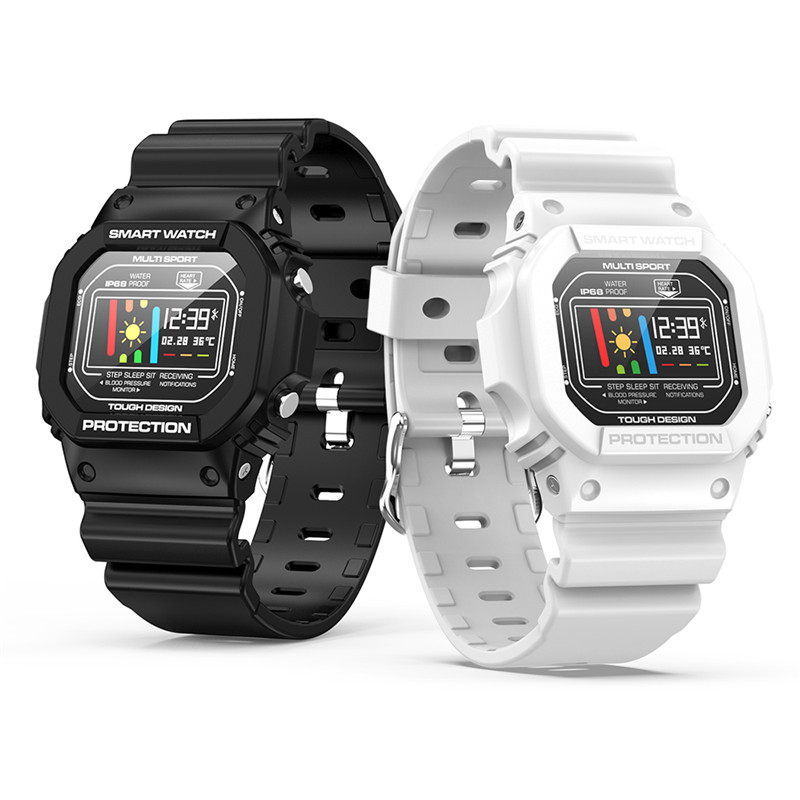 <font><b>X12</b></font> smart watch unisex style sleep heart rate blood pressure monitoring ECG multiple sports mode IP68 waterproof <font><b>Smartwatches</b></font> image