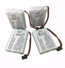 4 шт., аккумуляторные батарейки для телефона, 3,6 В, 800 мАч