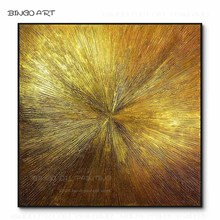 Hand-painted High Quality Abstract Golden and Silver Oil Painting on Canvas Beauty Artwork Golden and Silver Knife Oil Painting цена