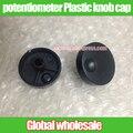 2pcs Half - axis potentiometer Plastic knob caps 31MM*14MM Convex handle long 7.5MM