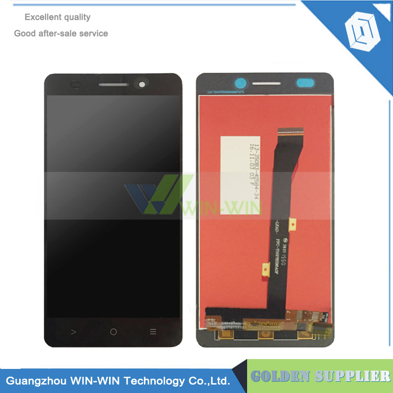 ФОТО Black Lcd Screen For Highscreen Power Five Evo FiveEvo LCD Display With Touch Screen Digitizer Assembly
