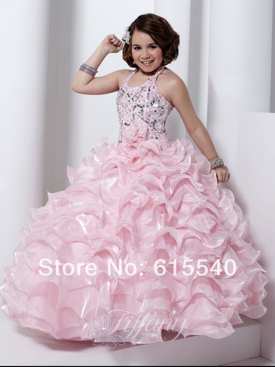 Baby pink flower girl dresses uk aliexpress buy white flower girl dresses uk pageant beautiful dress australia night halter off the izmirmasajfo Choice Image