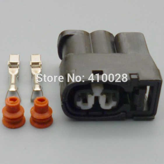 shhworldsea 5sets 2Pin Ignition Coil Connector Case For Toyota 1JZ 2JZ 1JZ  GTE 2JZ GTE for Lexus SC300 for Mazda RX7 S6/7/8