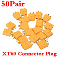 50Pair Male / Female Durable XT60 Connector Plug For  Battery  essential Plug
