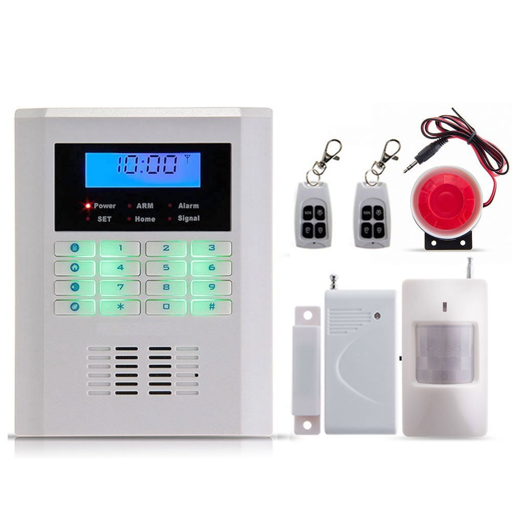 850/900/1800/1900mhz 99 Wireless 2 wired zones Quad4Bands GSM PSTN SMS Home Dual-network Burglar Security Voice Alarm System