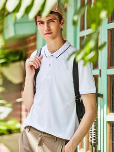 Giordano Polo-Shirt Essential-Tops Pique Mens Solid Male Slim Camiseta Masculina