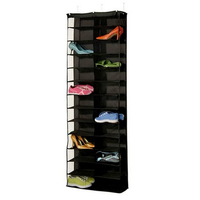 26 Pockets Foldable Shoes Bag Wardrobe Hanging Bags Save Space Organizer Shoes Underpants Storage Bag Home