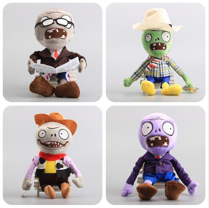 "Hot Sale 8 Styles Zombies Game Figure Plush Toys Stuffed Dolls 12"" 30 CM 1"