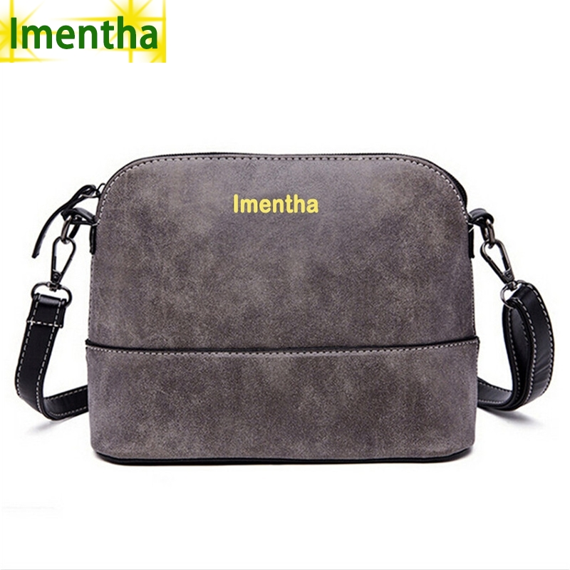 high quality 2017 gray Shell Women Bag Strap Shoulder Bags Women Leather Handbags Female Crossbody Bags For Women Messenger Bags