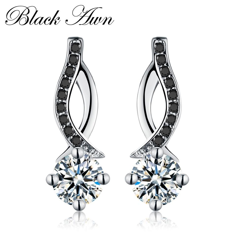 [BLACK AWN] Справжні срібні ювелірні - Вишукані прикраси
