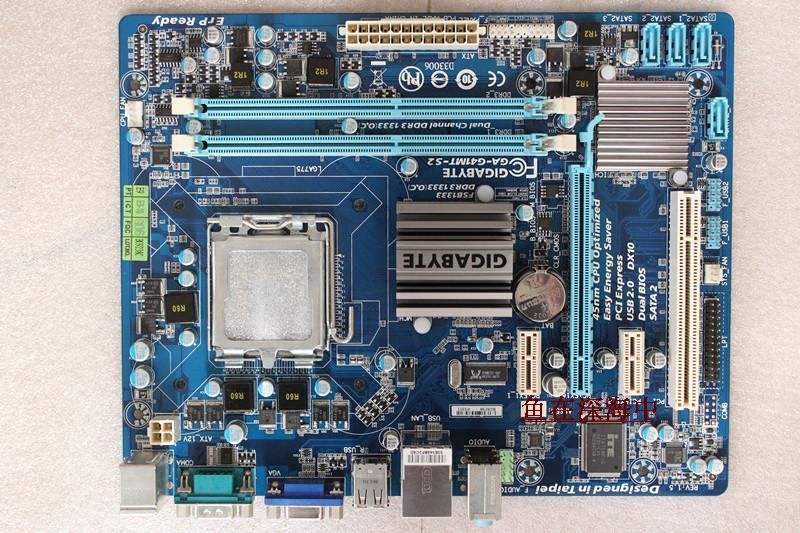 original motherboard for gigabyte GA-G41MT-S2 LGA 775 DDR3 board G41MT-S2 Fully Integrated G41 desktop motherboard Free shipping original motherboard ga g41mt s2 lga 775 ddr3 g41mt s2 8gb fully integrated g41 free shipping