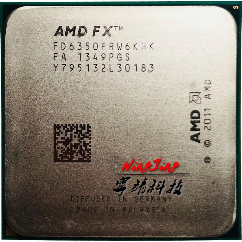 Amdのfx シリーズFX 6350 fx 6350 3.9 ghz 6コアcpuプロセッサFD6350FRW6KHKソケットam3 +  グループ上の パソコン & オフィス からの CPU の中 1