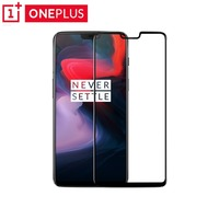 Original OnePlus 6 Glass 3D Full Cover Tempered Glass Screen Pprotector For One Plus 6 Full Coverage Protective Film