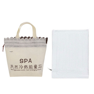 Image 3 - Electric Heating Bag Lava Stone Massager Energy Volcanic Stone Beads Natural Hot Lava Massage Stone SPA Release Physical Tension