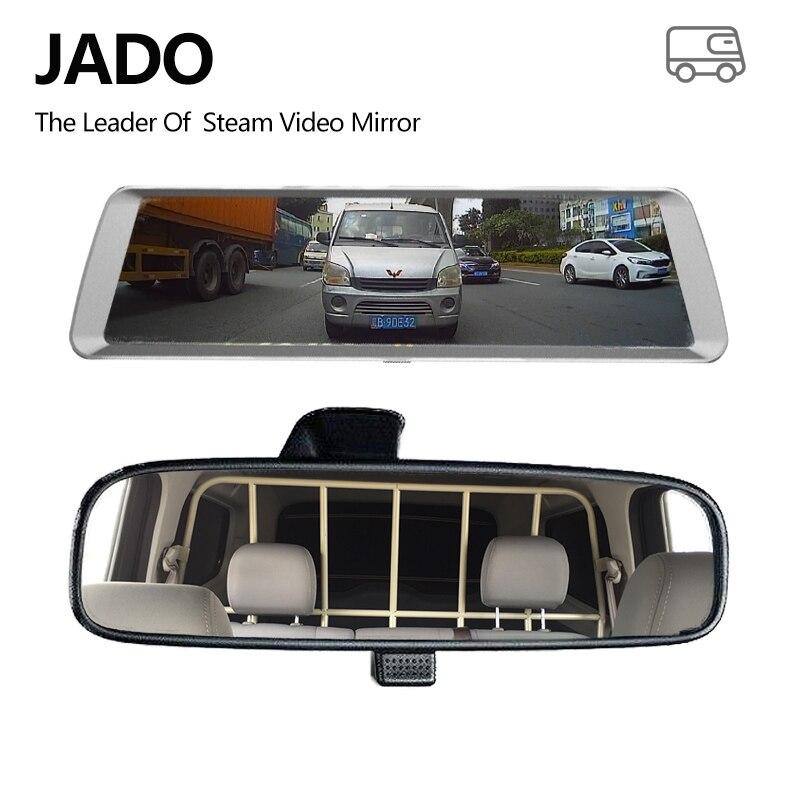 JADO D820 Flusso Specchietto retrovisore Dell'automobile Dvr del precipitare Della Macchina Fotografica avtoregistrator GPS 10 IPS Touch Screen Full HD 1080 p Auto registratore dash cam