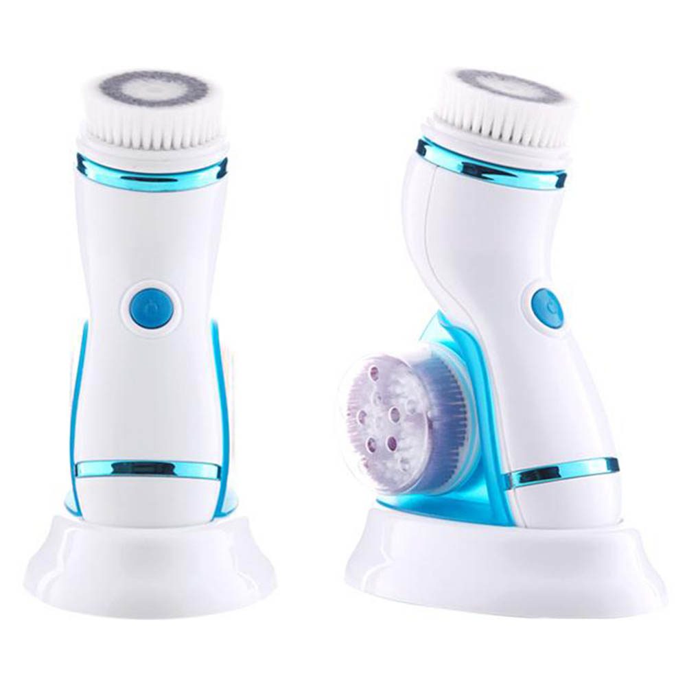 Professional Deep Facial Cleansing Brush Waterproof Sonic Spin Brushes with Brush Heads Exfoliating Clean System Facial Care HB8 цена