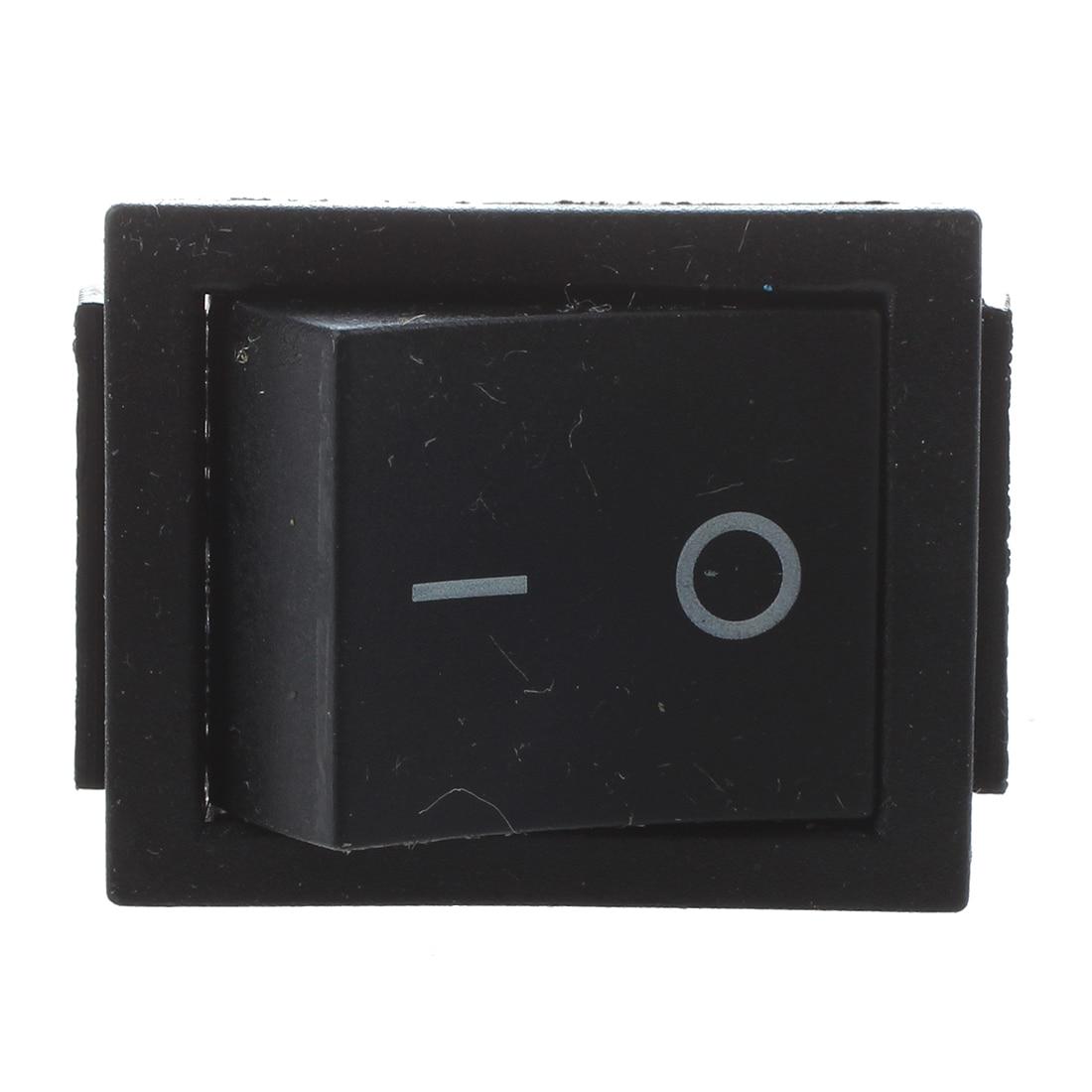 Cheap Price 2 Pcs Black 4 Pins Dpst On/off Rocker Switch Ac 250v/15a 125v/20a Lights & Lighting