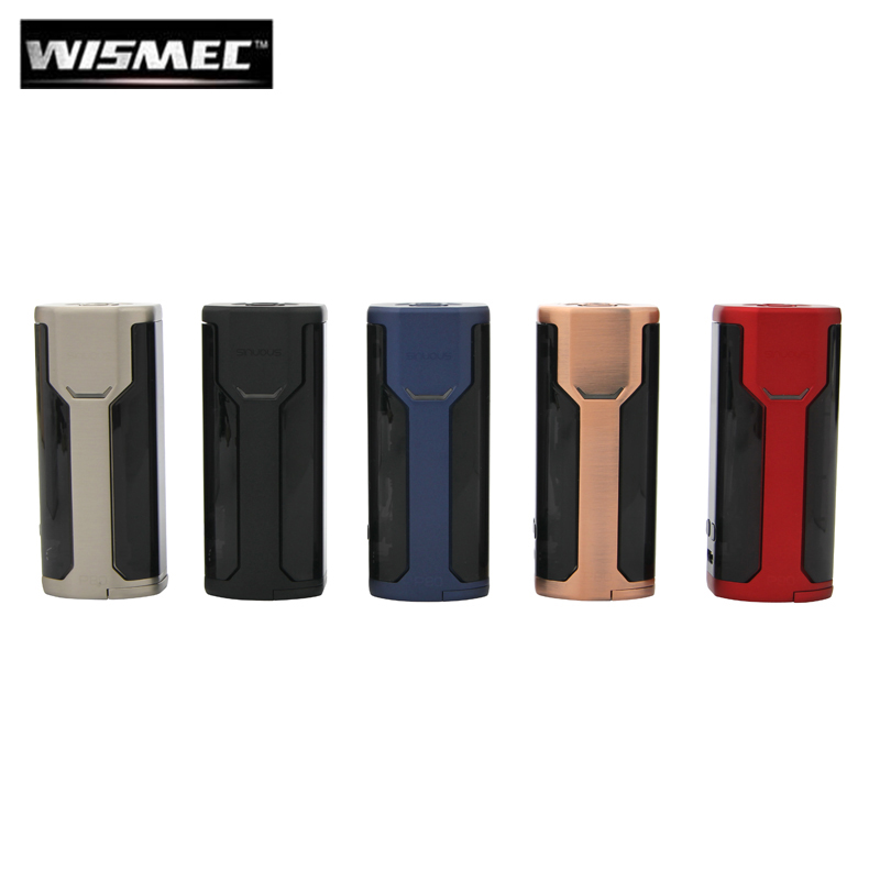 Original Wismec Sinuous P80 80W Box MOD Electronic Cigarette Vape Vaporizer Support Elabo Mini Tank