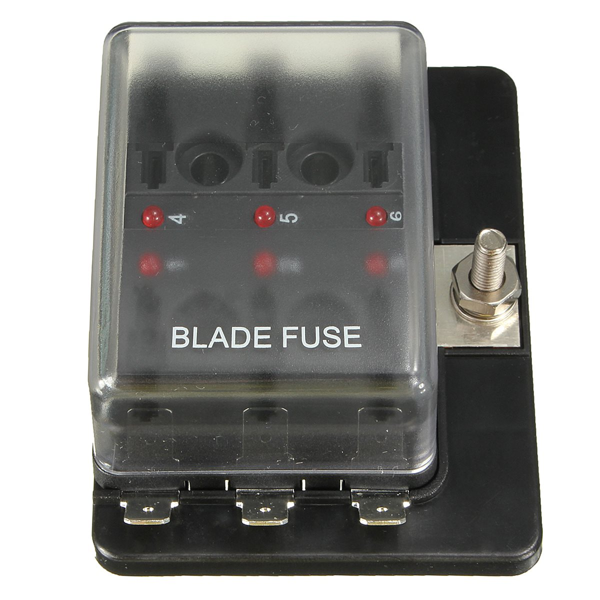 1 Power In 6 Way Auto Boat Circuit Fusebox Blade Terminal Holder Led Z3 9 Fuse Box W Warning Fuses From Automobiles Motorcycles On Alibaba Group