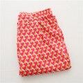 Heart-shaped do sono das mulheres verão calça homewear longas calças de pijama roupa em casa para as mulheres