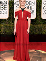 2017 73rd Golden Globe Awards Natalie Dormer Red Carpet Celebrity Dresses Pleated Chiffon Long Evening Gown Rode De Soiree