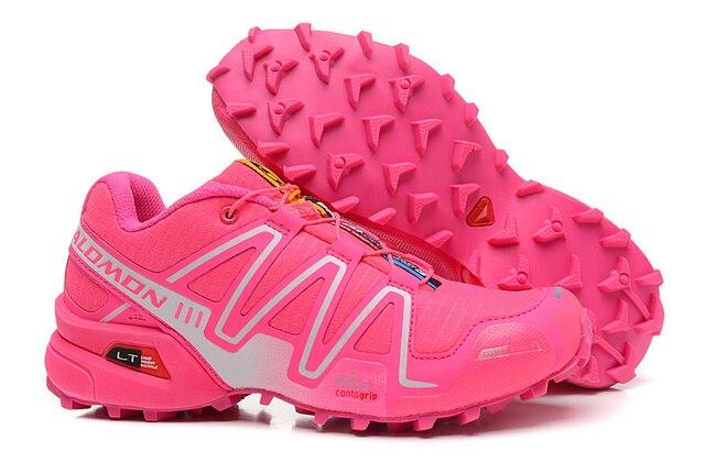 f8d54b1adf5a Salomon Speed Cross 3 CS Women Running Shoes Outdoor Female Sport Mesh  Light Sneakers eur 36