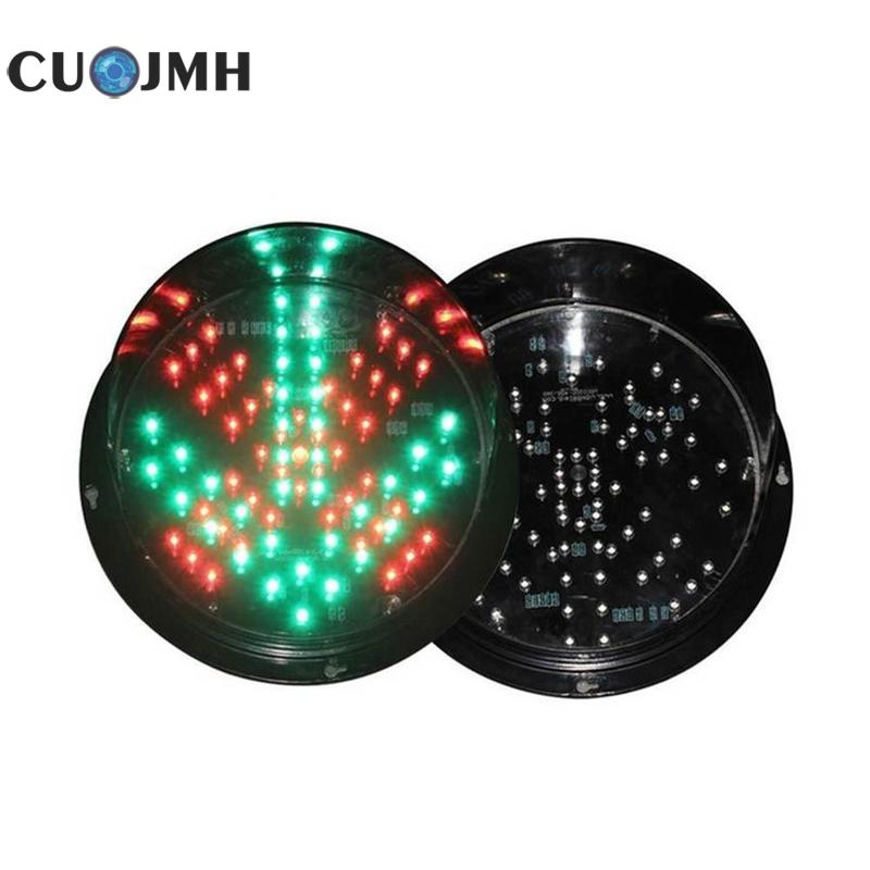 125mm Red Green Led Traffic Lights Education Toy Good Decoration Car Washer Waterproof Led Traffic Signal Light Teaching Lamp led electronic traffic lane control signal traffic lane indicator light with red cross