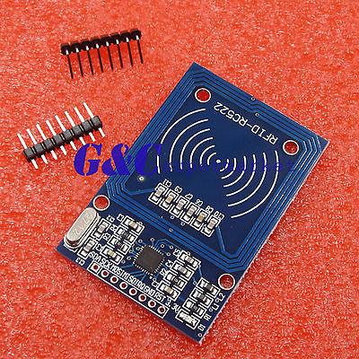 2PCS RFID 13.56MHz RC522 Antenna RF Module Proximity Module Board Brand New
