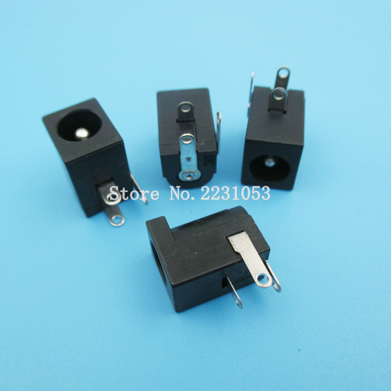 10PCS/LOT 5.5*2.5MM DC-005 DC Power Jack Socket Connector DC005 Socket 5.5X2.5