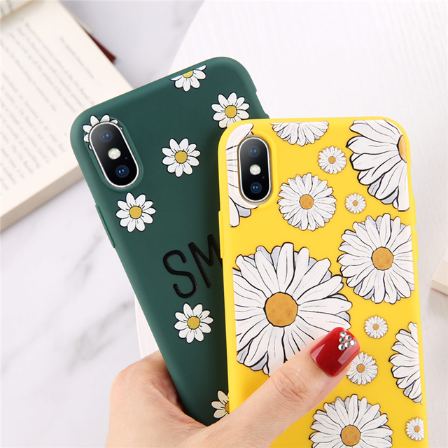 Summer Flowers Phone Case For iPhone