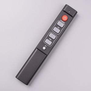 Image 2 - 6 개의 열쇠는 텔레비젼 STB DVD 상자 DVB hifi를위한 원격 제어 일을 배우십시오, 사용하기 편한 텔레비젼 상자를위한 보편적 인 똑똑한 관제사