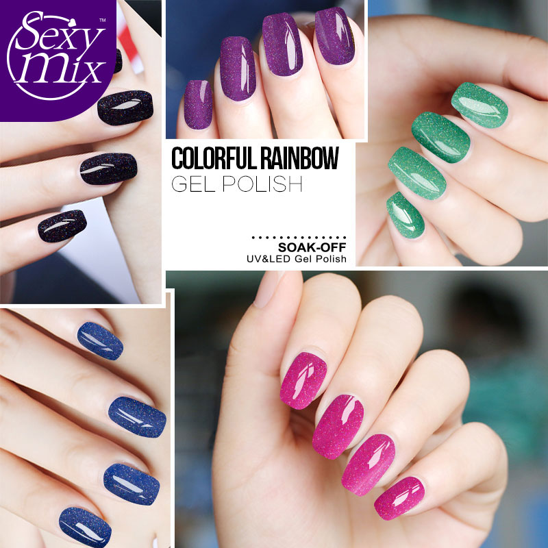 Sexy Mix 3 Pieces / Pack Winter Color Set Neon Gel Nail Polish ...