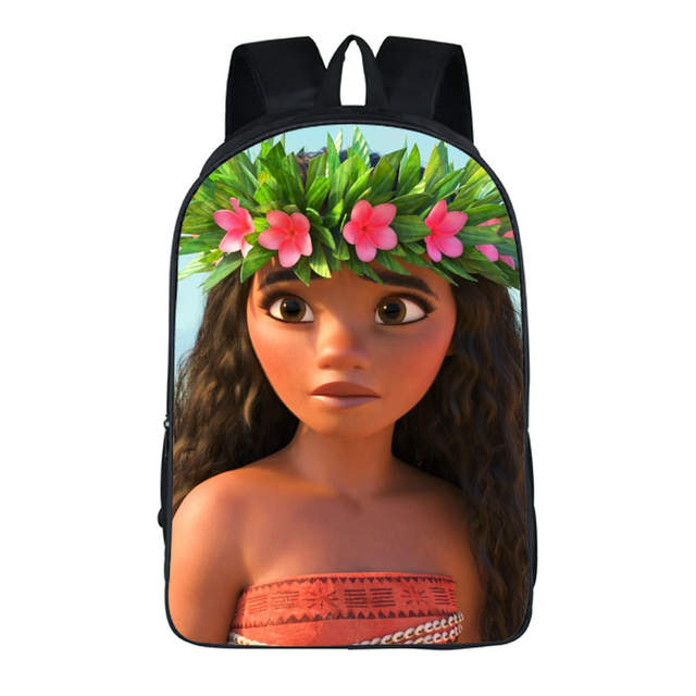 f68ca08ab4c Online Shop Anime Moana Princes Backpack For Teenagers Boys Girls School  Bags Sans vaiana Travel Bag Children Bookbag Shoulder Backpacks