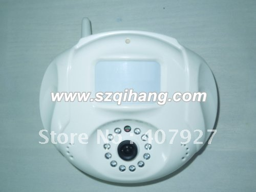 SMS &MMS Wireless GSM alarm system with camera (IP-2098) free shipping