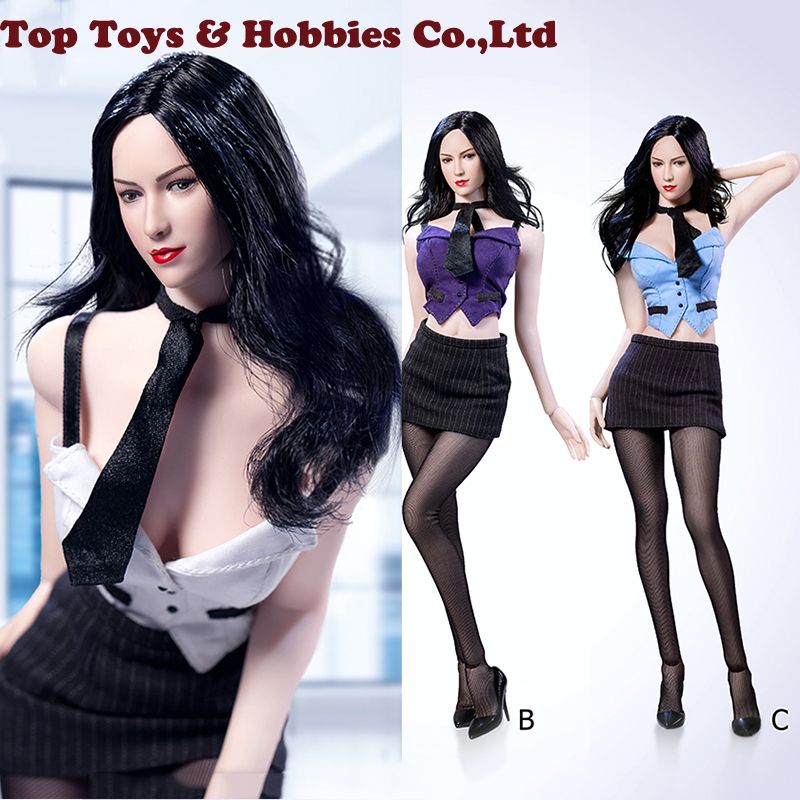 3 colors ACPLAY 1/6 Scale Sexy Female Secretary ATX046 Clothes F 12Female OL Girl For 12 TBLeague large bust Seamless Body3 colors ACPLAY 1/6 Scale Sexy Female Secretary ATX046 Clothes F 12Female OL Girl For 12 TBLeague large bust Seamless Body