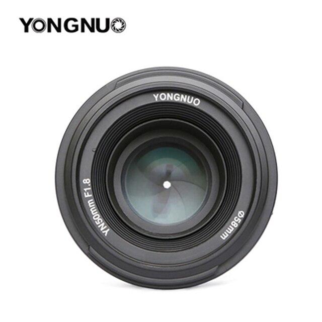 Original YONGNUO 50mm f1.8 Prime Camera Lens  Large Aperture Auto Focus for NIKON d5200 d3300 d5300 d90 d3100 d5100 s3300 d5000 2