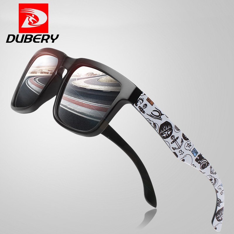DUBERY Classic Polaroid Men Sunglasses Brand Designer Fashion Sun Glasses Of Men HD Driv ...