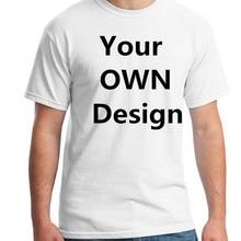 Ваш как фото или логотип ваш собственный дизайн Bran европейский размер хлопок на заказ футболка