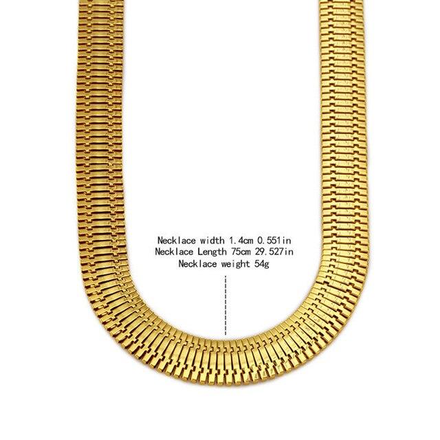 Фото ожерелье в елочку мужское гальванизированное колье стиле хип цена