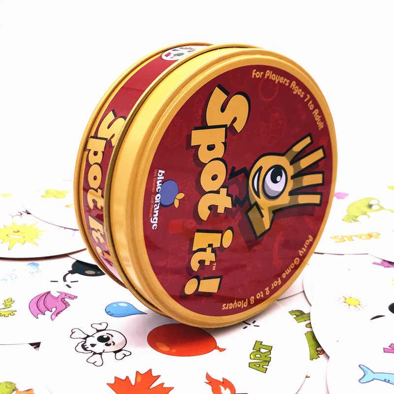Familie Kids Board Games Speelgoed Voor Kinderen Spot Het Kaartspel Voor Party Office
