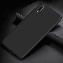 For Huawei Y7 Pro 2019 Case Cover for Rubber Silicone Armor Protective TPU Phone