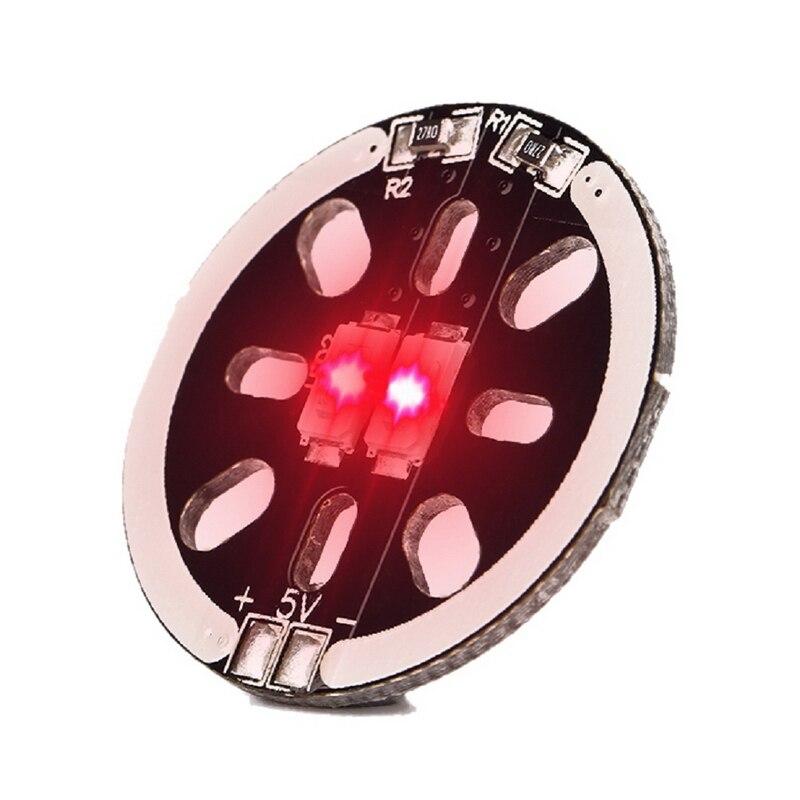1 шт. <font><b>LED</b></font> X2/5 В Двигатель гора света для 1806 2204 2206 multicopters дроны 4 цвета Лидер продаж
