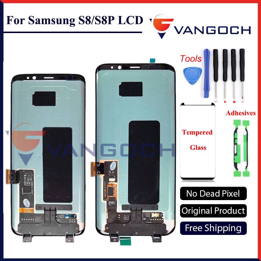 100% Original Super Amoled LCD Screen for Samsung Galaxy