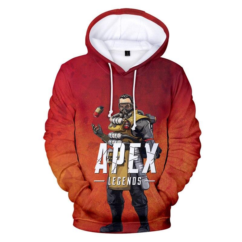 2019 new 3D printed Apex Legends game Hooded sweatshirt Men/Women apex legend hoodie men Plus Size 4XL hoodies Clothing