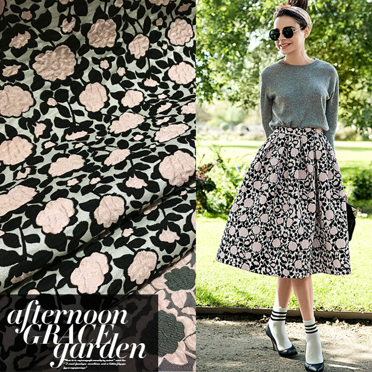 free shipping Dimensional jacquard fashion fabric crisp dress jacket DIY fabrics wholesale high quality jacquard cloth