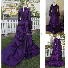 1860S Victorian Corset Gothic/Civil War Southern Belle Ball Gown Dress Halloween dresses CUSTOM MADE R-111