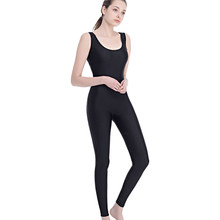 da05eac555 Women s Spandex Yoga Jumpsuit Lycra Tights Aerial YogaAdult Dance Leotards Unitard  Bodysuit Catsuit Sleeveless One-piece Fitness